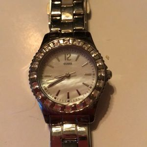 Guess Watch like new. Crystal around face.